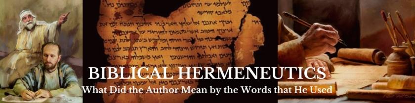 biblical-hermeneutics