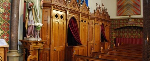 catholic confessional-