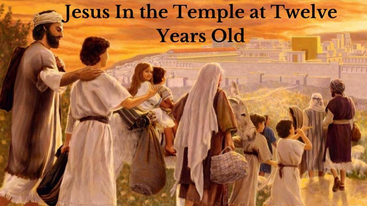 Jesus In the Temple at Twelve Years Old