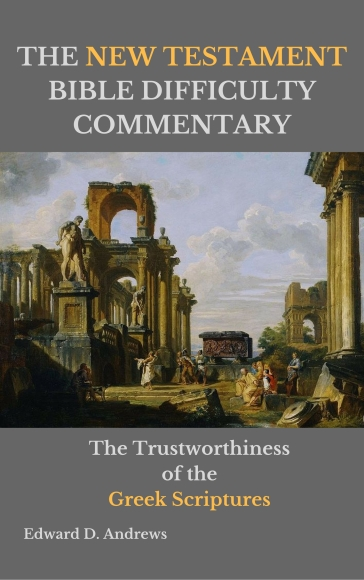 A NEW TESTAMENT BIBLE DIFFICULTY COMMENTARY