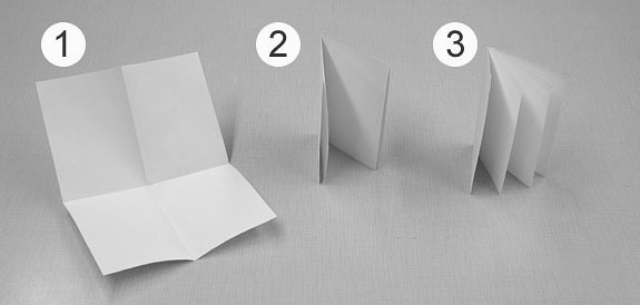 A typical four-leaf quire can be formed from a single sheet of papyrus, parchment, or paper by folding and then cutting the sheet