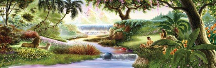 Garden of Eden _ Adam and Eve_01