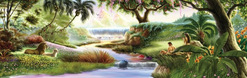 Garden of Eden _ Adam and Eve_01