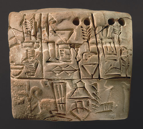 Jemdet Nasr cuneiform
