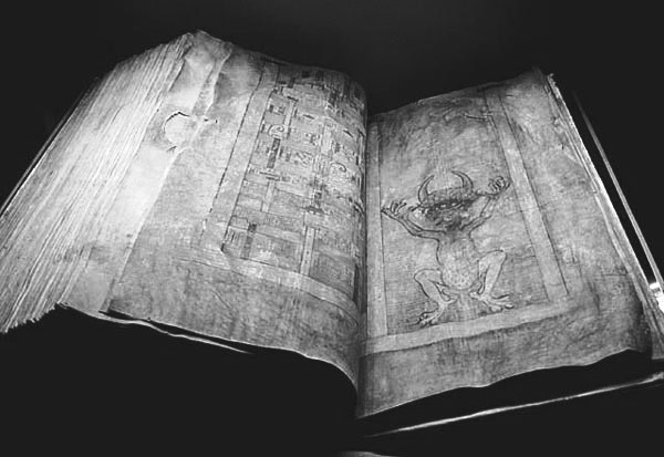 The Codex Gigas, 13th century, Bohemia.