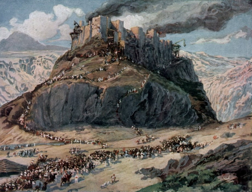 the conquest of the amorites