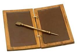 waxed tablet