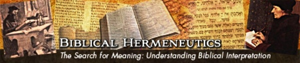 Biblical Hermeneutics 20