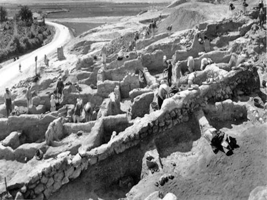 Excavations of John Garstang at Jericho