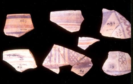 Pottery found at Jericho I