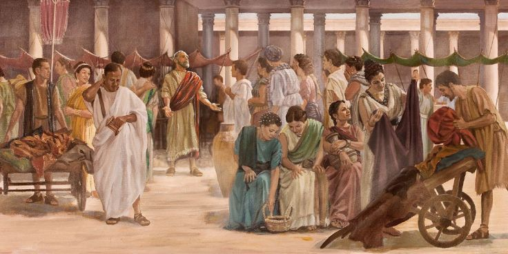Paul Evangelizing