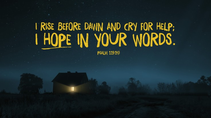 Psalm 119.147