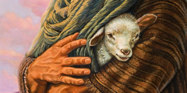 Divine Protection Lamb Jesus