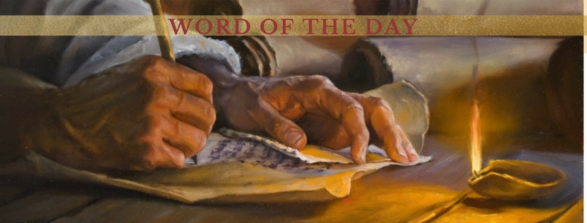WORD OF THE DAY – Christian Publishing House Blog