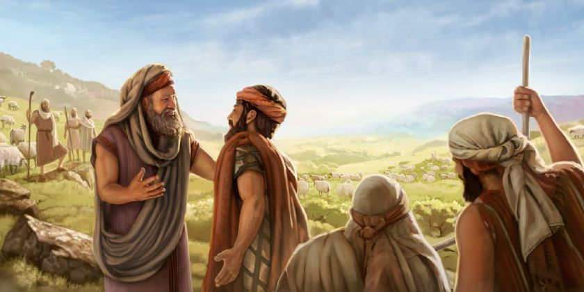Abraham and Lot