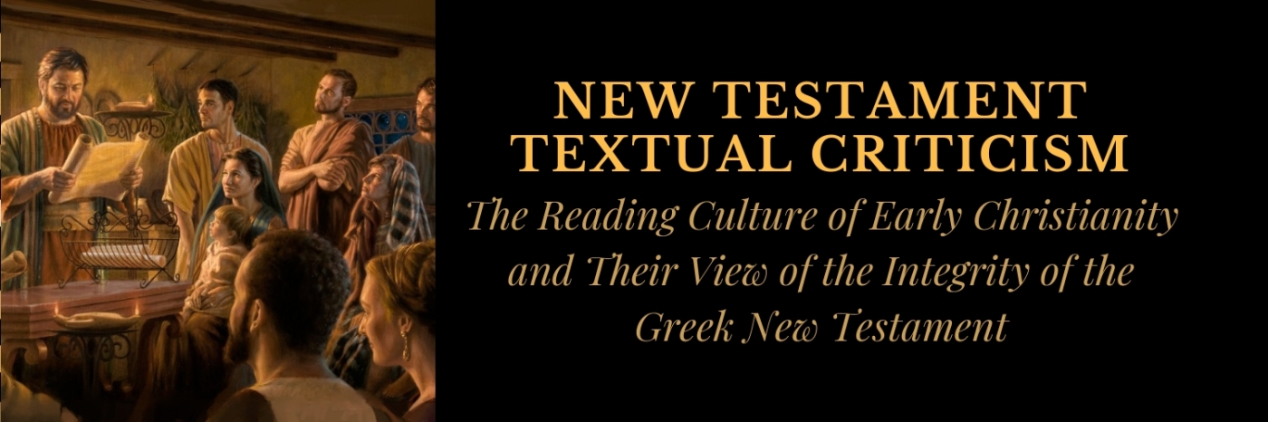 The Reading Culture Of Early Christianity And Their View Of The
