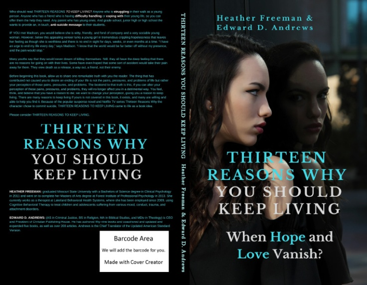 FULL COVER THIRTEEN REASONS WHY