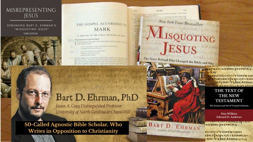 S0-Called Agnostic Bible Scholars writes in Opposition to Christianity_Bart D. Ehrman
