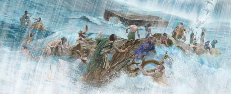 Flood of Noah_End Times-Last Days