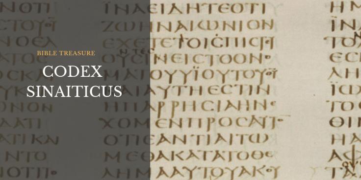 Codex Sinaiticus - Bible Treasure