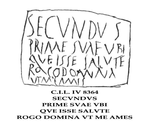 CIL IV, 8364