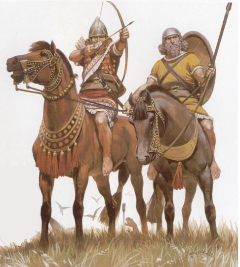 Assyria in Bible History_Assyrian - Warriors