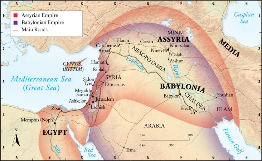 Mesopotamia - Babylonian Empire - Assyrian Empire
