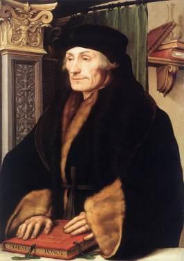 Desiderius Erasmus in 1523.